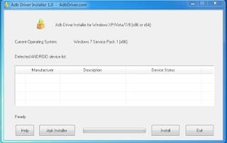 Adb Driver Installer ALL Windows XP/Vista/7/8 32/64bit