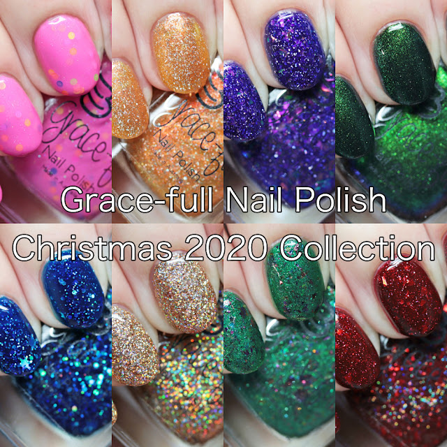 Grace-full Nail Polish Christmas 2020 Collection