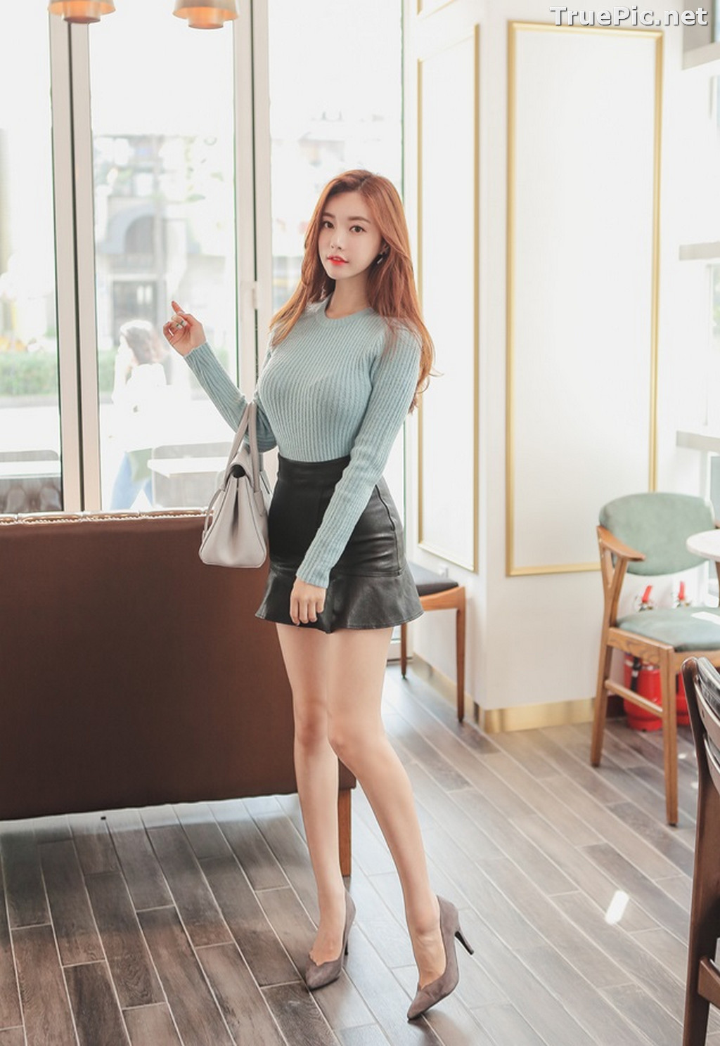 Image Korean Fashion Model – Hyemi – Office Dress Collection #3 - TruePic.net - Picture-5