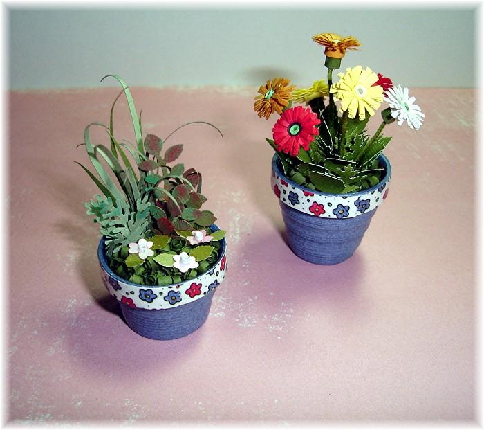простой вкусный цветы квиллинг в горшочках пошаговое фото едут паломники