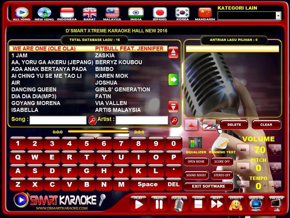 Cara Instal D'smart Billing Karaoke + Loader