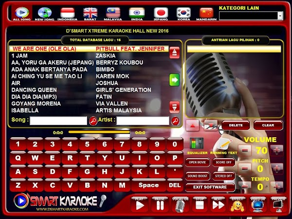 Cara Instal D'smart Billing Karaoke + Loader
