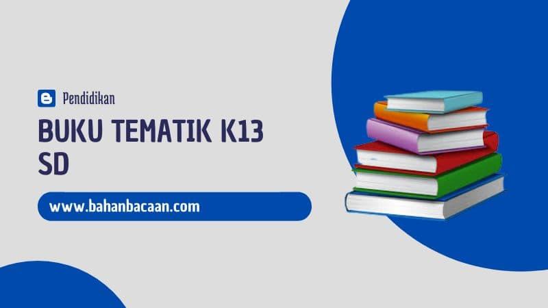 Buku Tematik Kelas 3 SD Revisi Terbaru