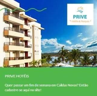 Cadastrar Promoção NovaBrasil FM Prive Hotéis Fim de Semana Caldas Novas