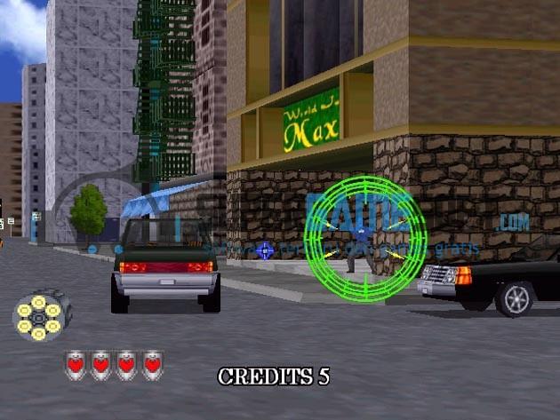 Virtual Cop 2 Gameplay