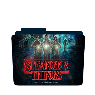 Preview of strange things, tv show, folder icon