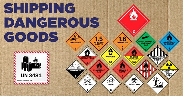 how to ship hazardous goods dangerous goods shipping best practices