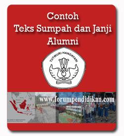 Contoh Janji Siswa Alumni