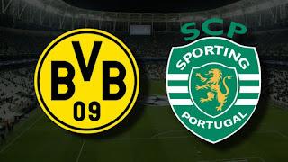موعد مباراة بوروسيا دورتموند ضد سبورتينغ لشبونة في دوري أبطال أوروبا والقنوات الناقلة.