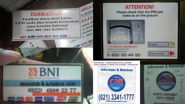 WARNING! Modus Kejahatan Terbaru di Mesin ATM Tahun 2016