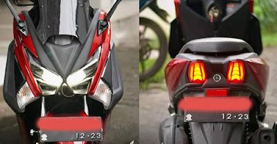 lampu variasi yang warna sesuai standar aturan di indonesia