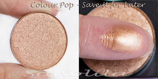 Save it for later  - Pressed Eyeshadow Colour Pop