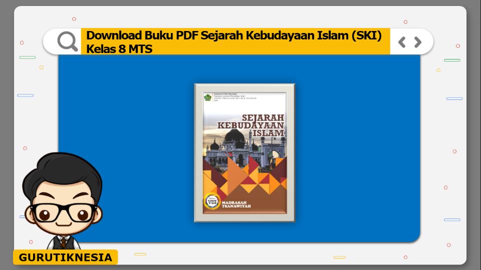 download buku pdf sejarah kebudayaan islam ski kelas 8 mts