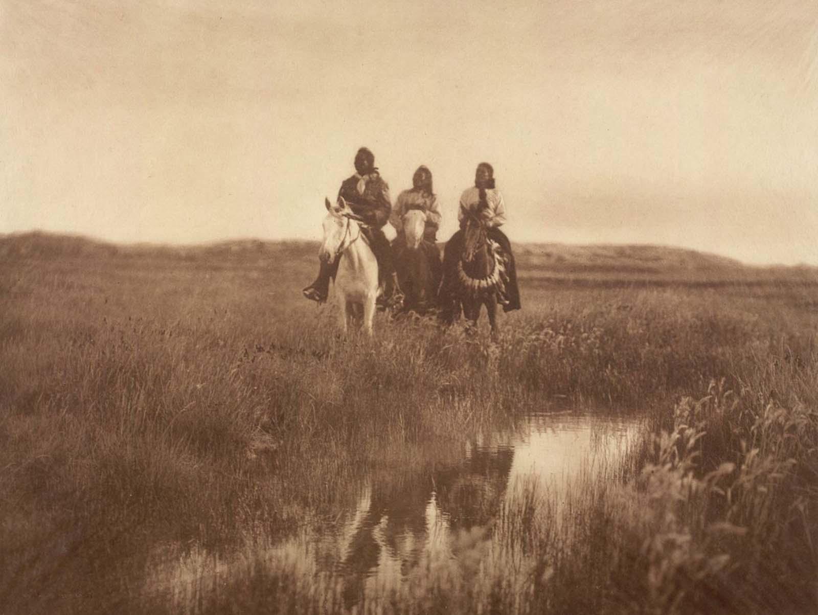 Piegan chiefs. 1900.