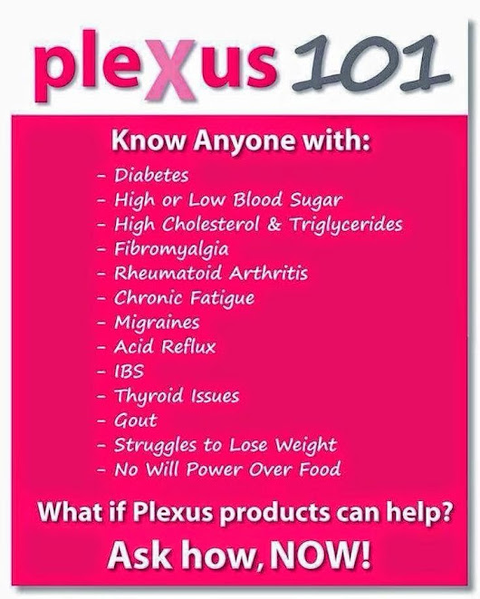 I Love My Plexus Slim!