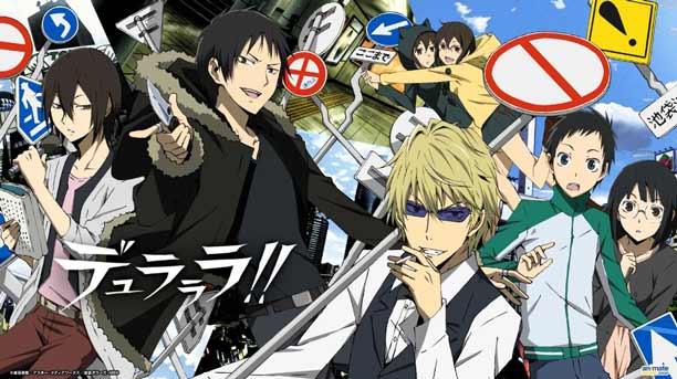 Anime Mystery Terbaik - Durarara!!