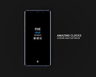 تحميل تطبيق Always on AMOLED | Edge Lighting v3.3.9 (Pro) Apk لهواتف الاندرويد مجانا