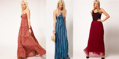 vestidos largos de asos