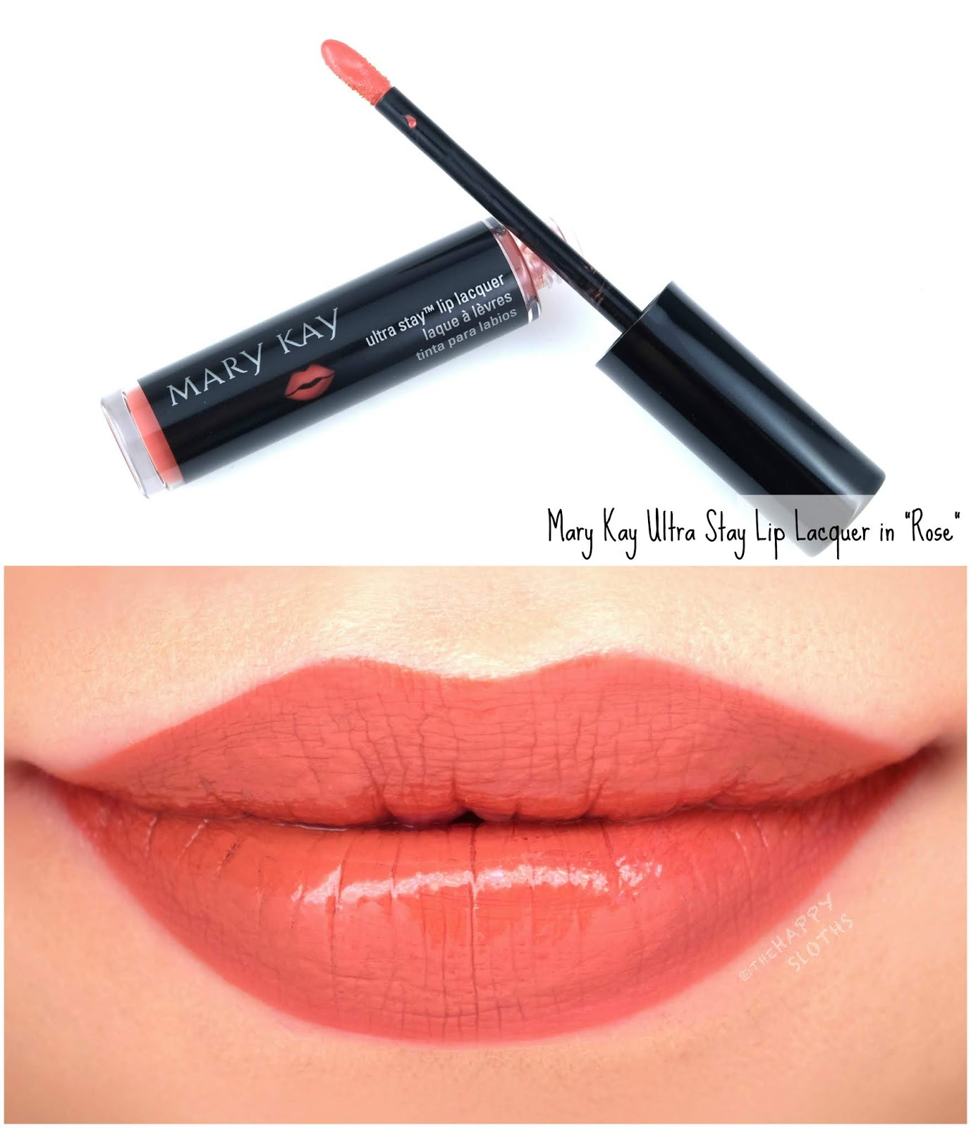 "Mary Kay | Ultra Stay Lip Lacquer Kit in ""Rose"": Review and Swatches"
