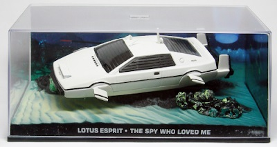 Autos a escala colección James Bond Lotus Esprit