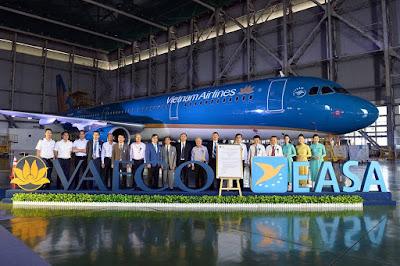 Vaeco đã đạt cả chứng chỉ bảo dưỡng máy bay của Mỹ và châu Âu