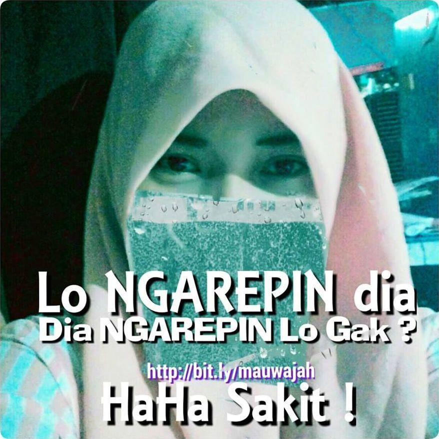 photo meme soraya gadis hijaber lo ngarepin dia cinta bertepuk sebelah tangan