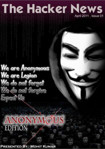 The Hacker News Magazine – Anonymous Edition –