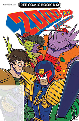 Free Comic Book Day: 2000 AD