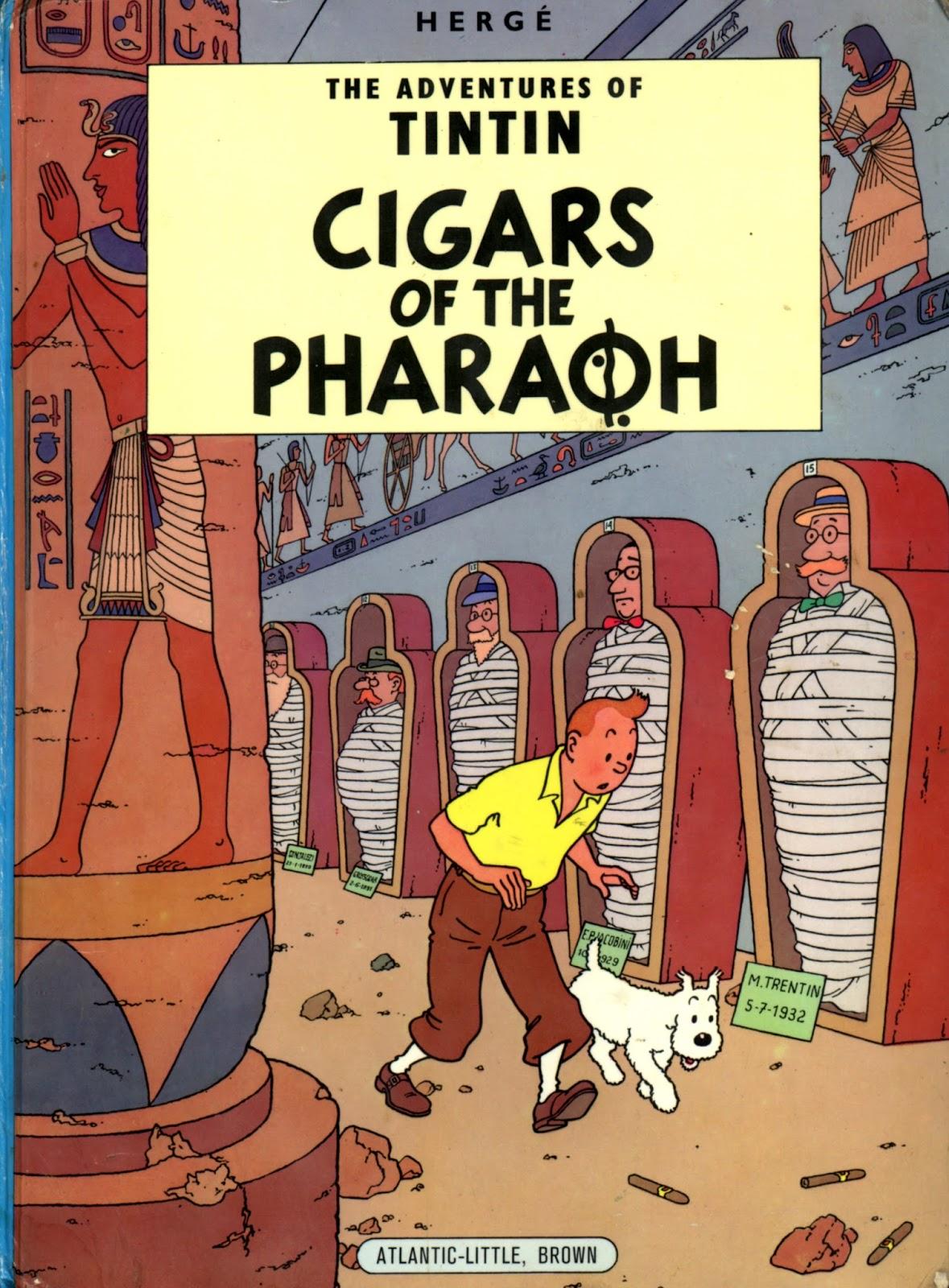 Tintin Comics  Cigars Of The Pharaoh Free Pdf  Free
