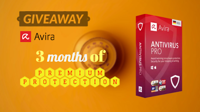 Giveaway: Avira Antivirus Pro for 3 Months