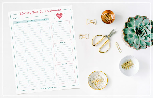 30 day self-care challenge - leroylime