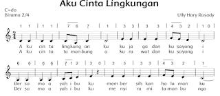 lirik lagu aku cinta lingkungan www.simplenews.me