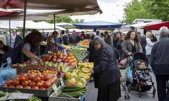 Νέες εξελίξεις για λαϊκές αγορές: Ανοιχτές ξανά τα Σαββατοκύριακα