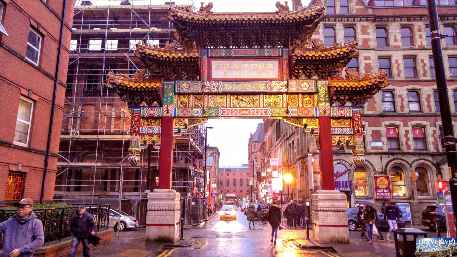 Uk Royaume Uni Manchester Chinatown