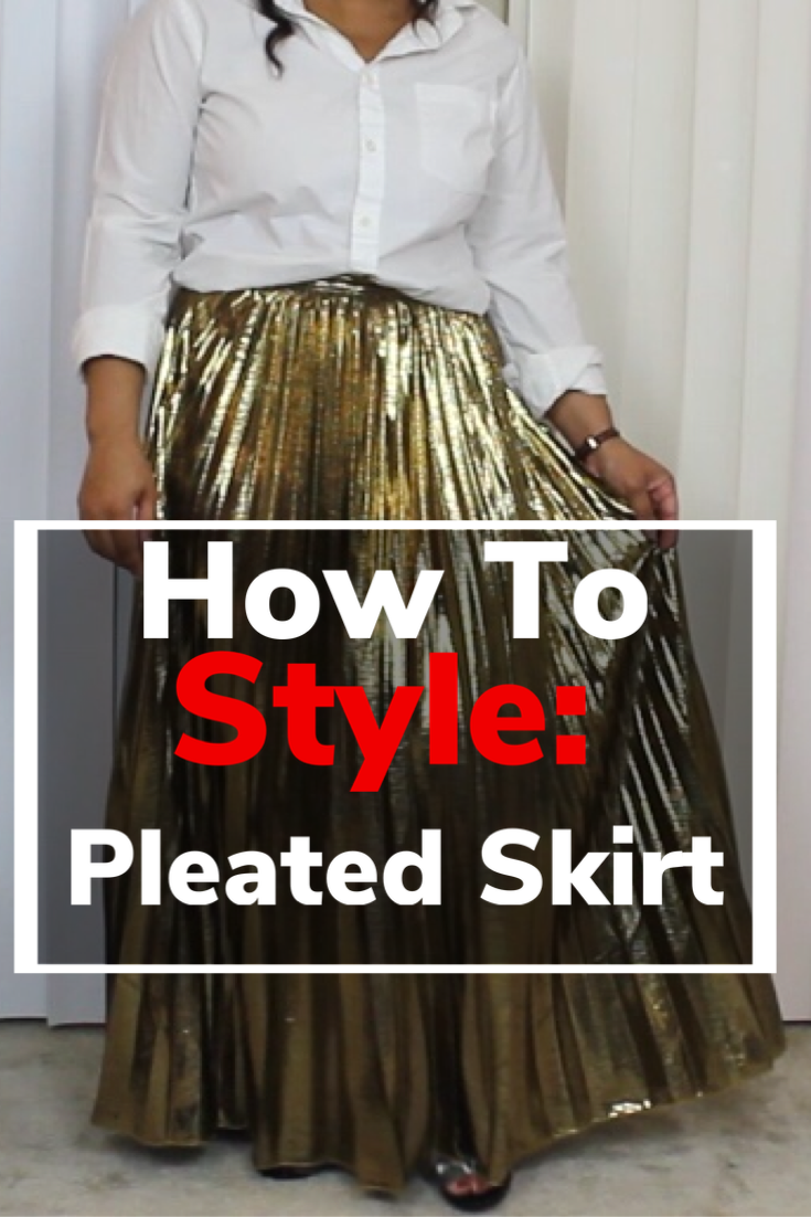 How to style a pleated skirt, pleated skirt outfits, how to style a skirt, midi pleated skirt, pleated skirt