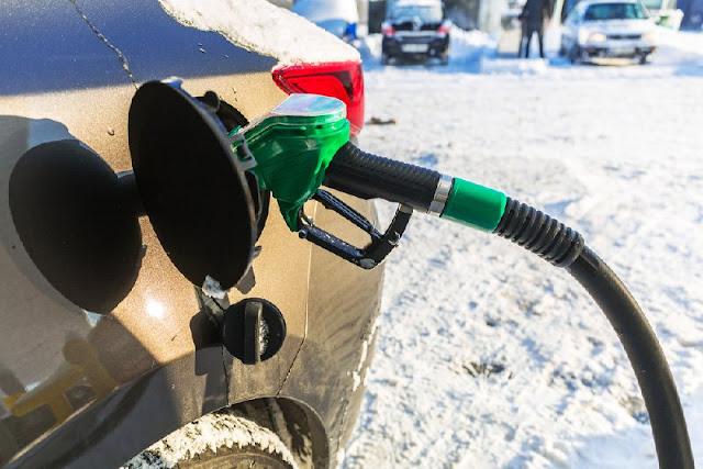 Как сэкономить бензин зимой