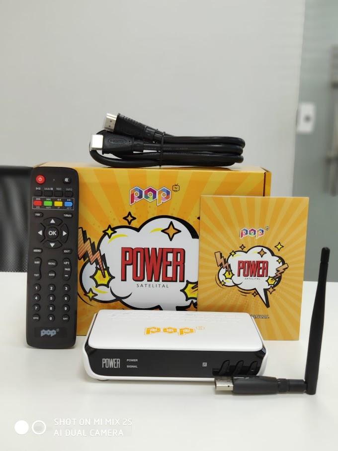 POP TV POWER NOVA ATUALIZAÇÃO V1.24 - 24/10/2019