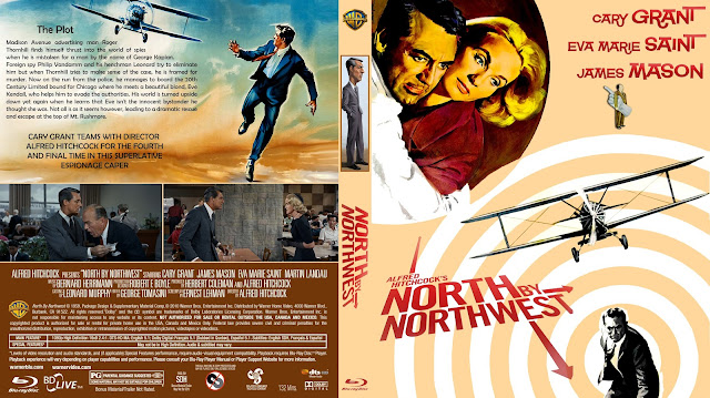 North by Northwest (1959) Bluray Cover