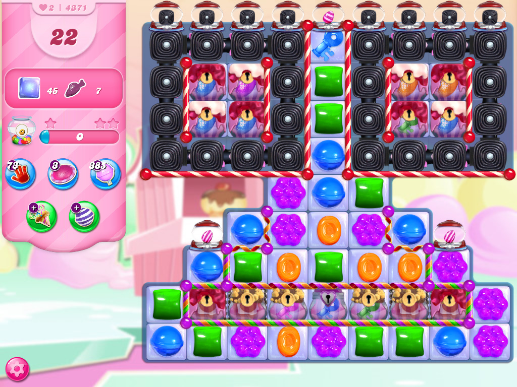 Candy Crush Saga level 4371