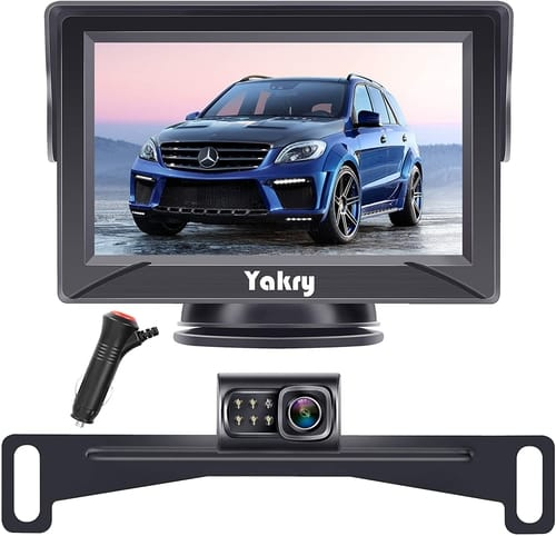 Yakry Backup Camera System Monitor for Truck