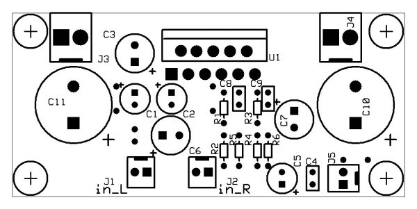 Microcontroller and electronics projects: A stereo 2X10W