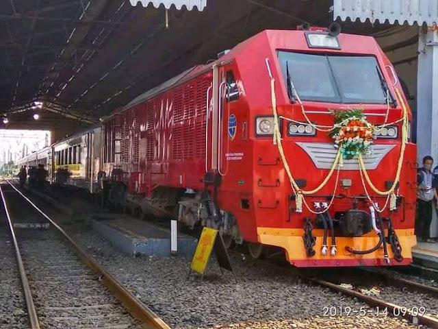 Jadwal Kereta Api Pangrango Relasi Bogor-Sukabumi PP