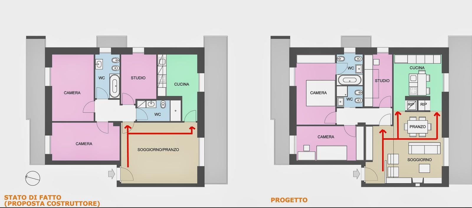 Appunti di architettura progettati da gk architetti casa m for Case ristrutturate da architetti