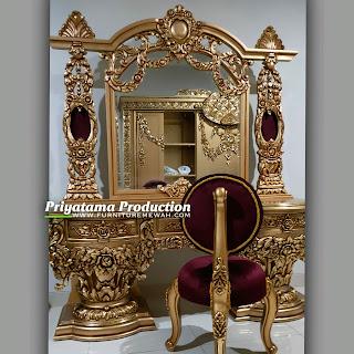 Meja Rias Sultan Ukir Luxury
