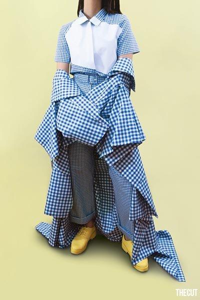 Kain Sprei Gorden Jadi Trend Pakaian, Seperti Ini Uniknya_iskrim_com_