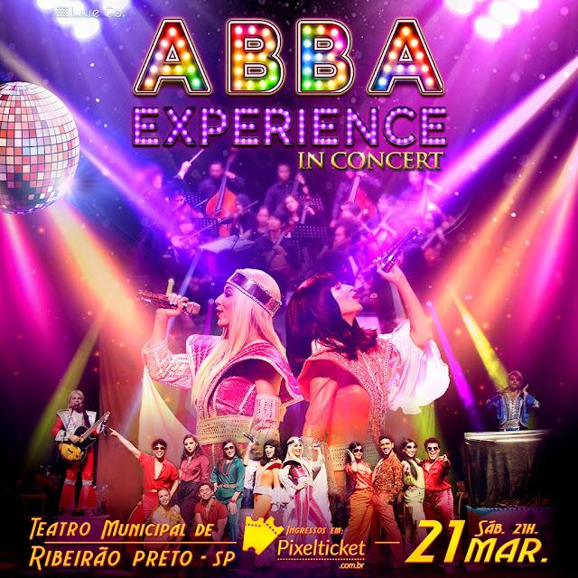 SHOW ABBA EM RIBEIRÃO PRETO, ABBA EXPERIENCE IN COCERT, AGENDA SHOWS THEATRO PEDRO II, RIBEIRÃO PRETO, SHOWS DE ROCK 2020 EM RIBEIRÃO PRETO, ARENA EUROBIKE, SHOWS ARENA EUROBIKE