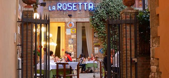 Restaurante La Rosetta em Perúgia