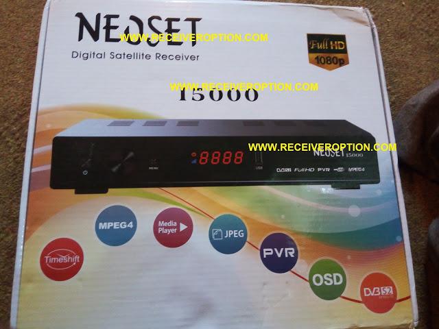 NEOSET 15000 HD RECEIVER TEN SPORTS OK NEW SOFTWARE