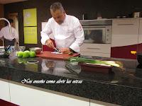 Clase de Cocina magistral del Xavier Pellicer