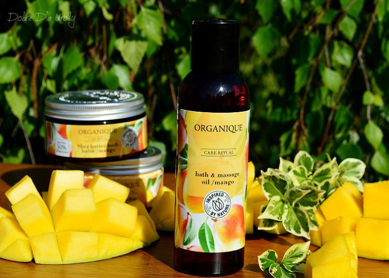 Rytuał Organique o zapachu słodkiego mango - olej do masażu